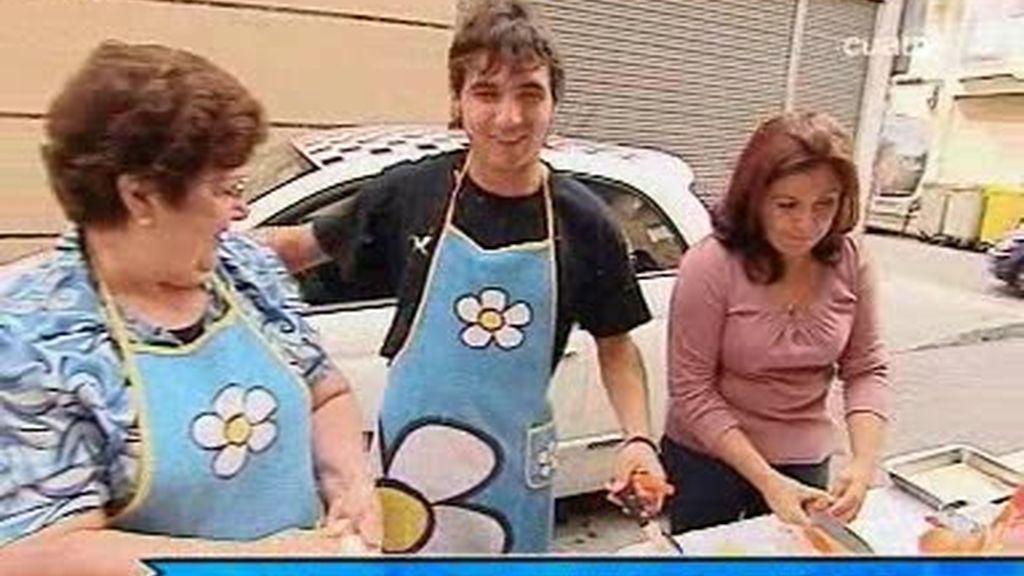 Christian, pinche de cocina