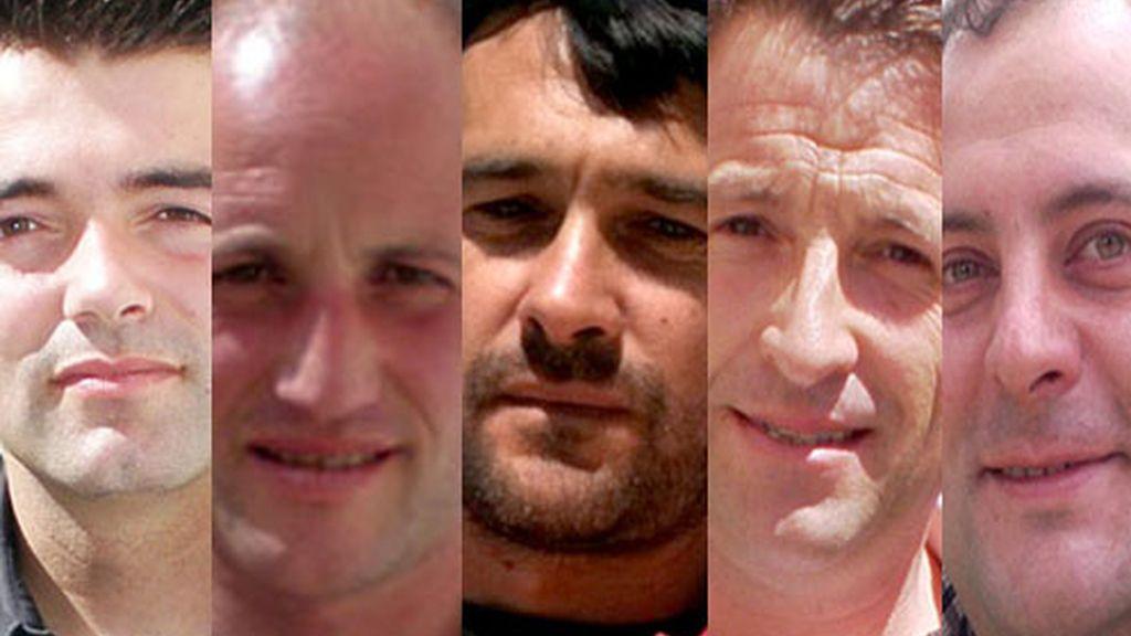 César, Luis, Gustavo, Román, Melendi y Jonathan son los 6 granjeros que abrirán las puertas de su granja para recibir el amor