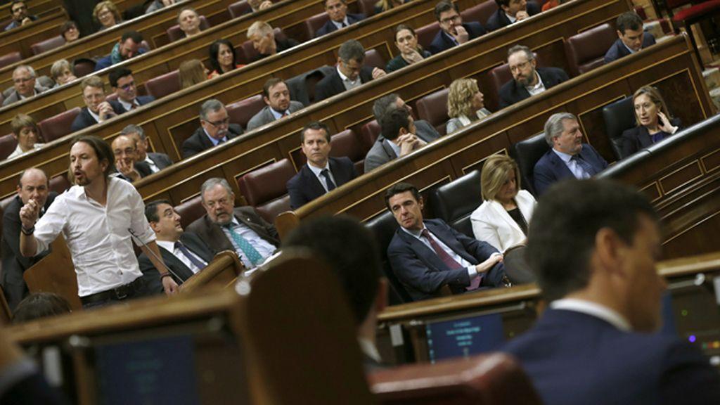 Debate entre Pablo Iglesias y Pedro Sánchez