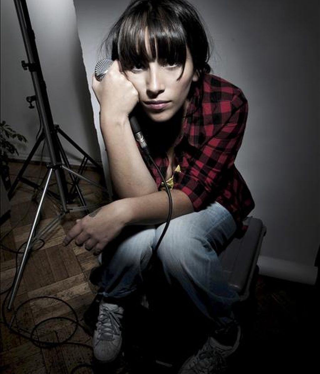 Fotografía de la rapera francochilena Ana Tijoux. EFE/Archivo