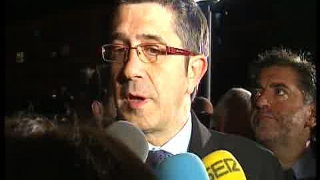 Patxi López defiende a Eguiguren