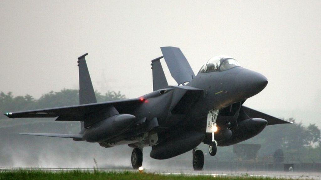 Un F-15 de EE.UU. se estrella en Libia