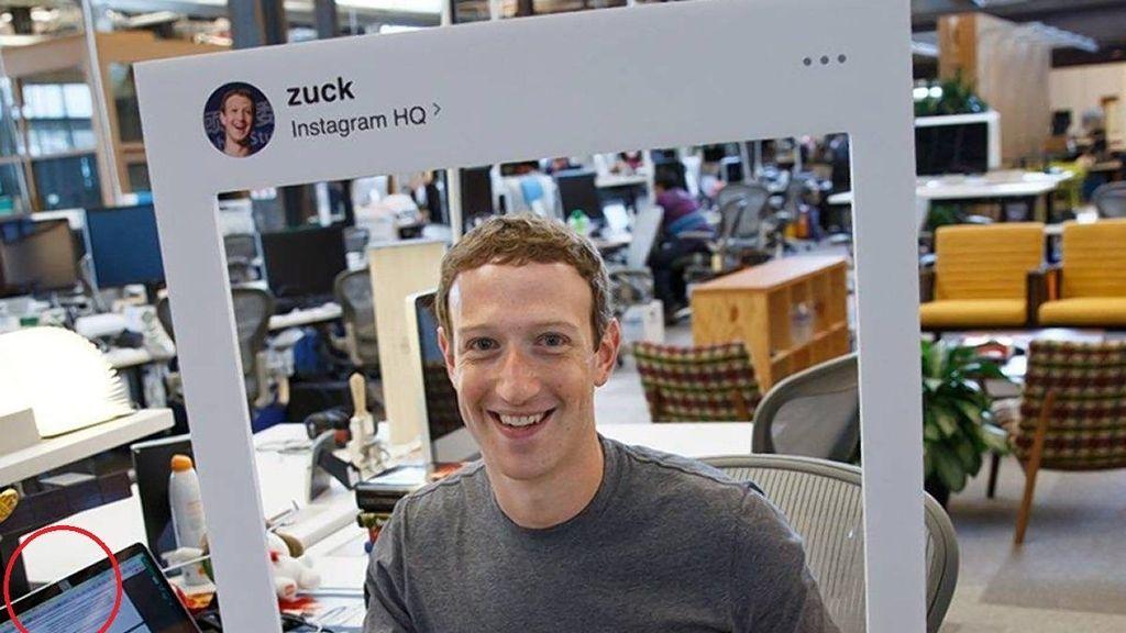 Ordenador de Zuckerberg