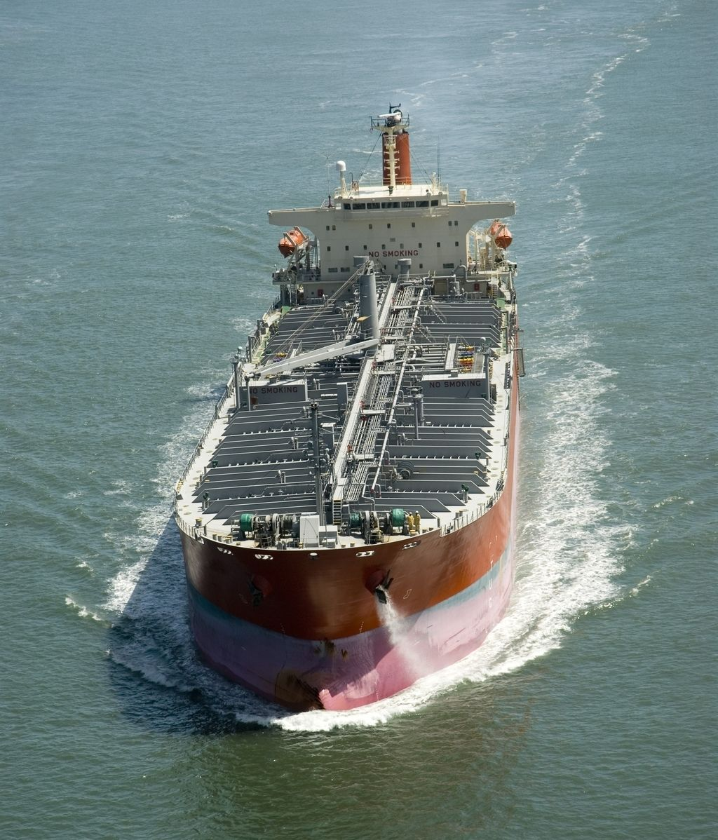 Un petrolero, en aguas del golfo de Guinea