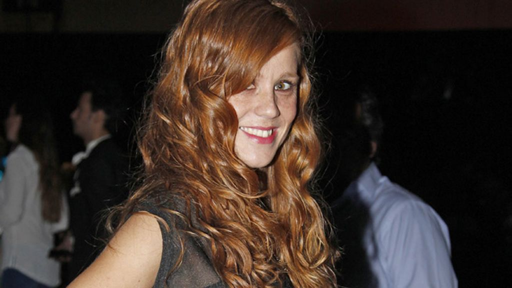 La actriz María Castro