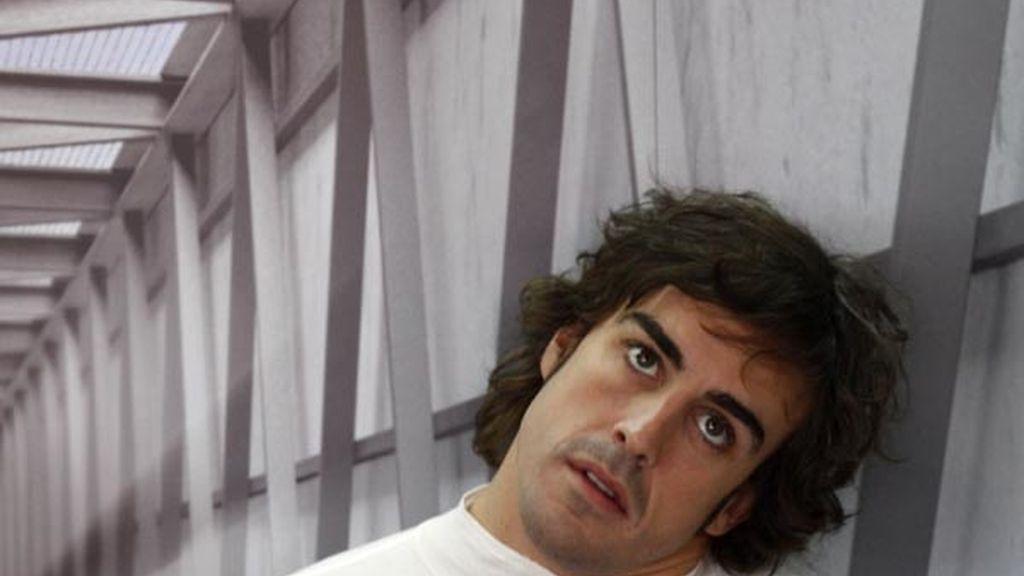 """El """"descanso"""" de Alonso"""