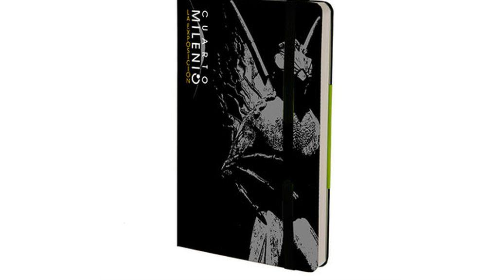 Libreta `Moleskine´ de Cuarto Milenio: la exposición