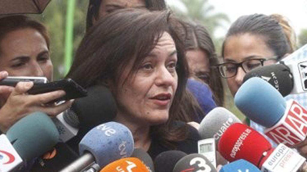 María del Reposo Carrero, abogada de Ruth Ortiz