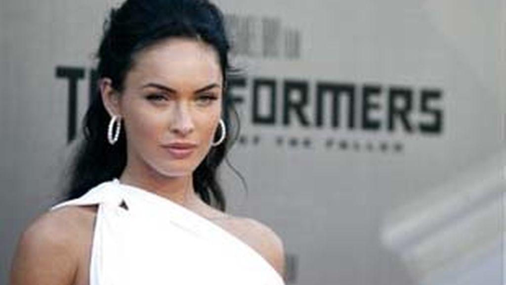 Megan Fox podría ser la 'peor actriz' de esta edición de los Razzies. Foto: AP