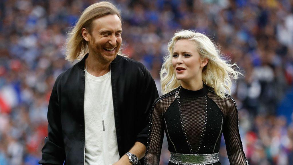 David Guetta y Zara Larsson, protagonistas de la ceremonia