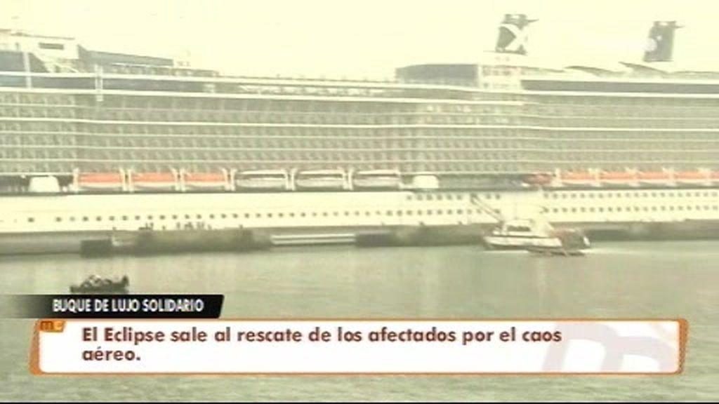Un crucero de lujo repatria a varios turistas