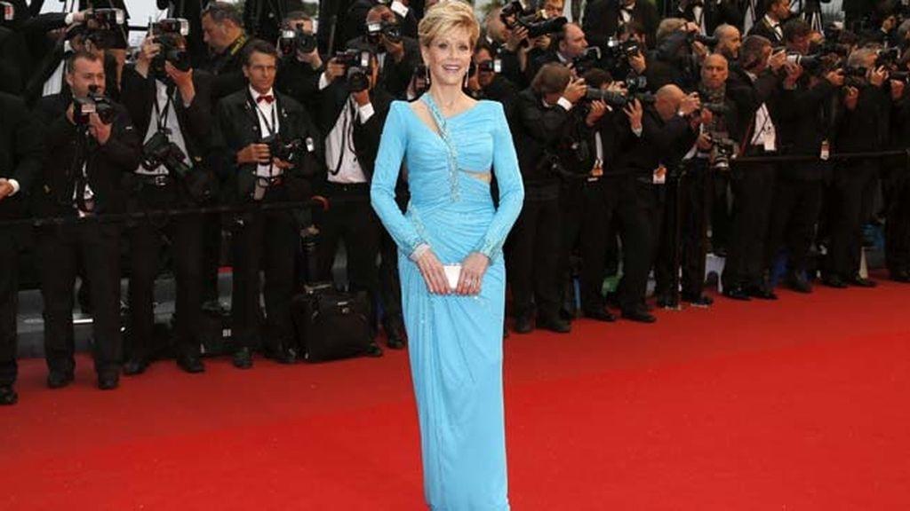 Jane Fonda en el Festival de Cine de Cannes