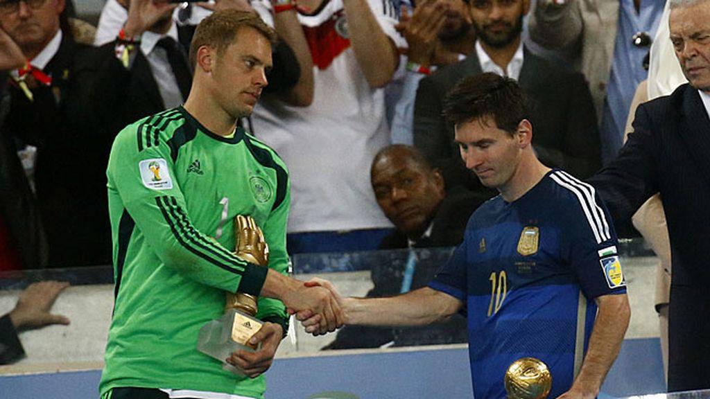 Neuer y Messi