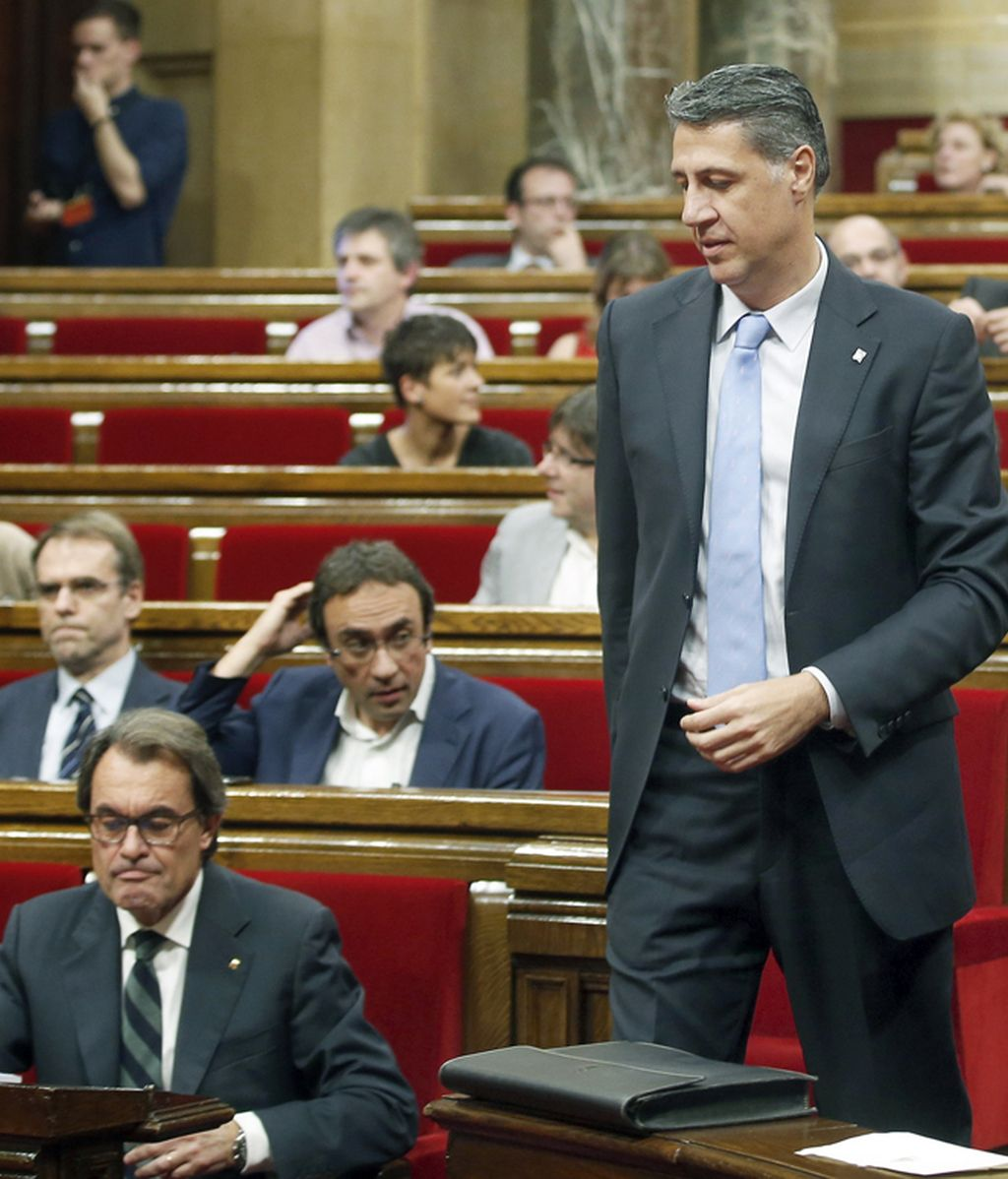 Xavier García Albiol (PP) responde al discurso de investidura de Artur Mas