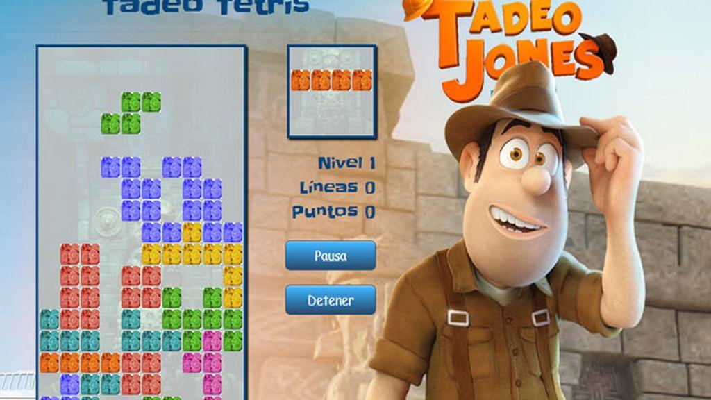 Así es el Tetris Tadeo