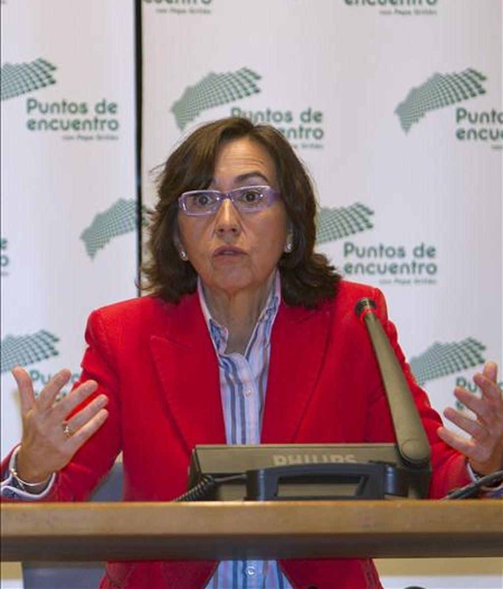 La ministra de Medio Ambiente, Medio Rural y Marino, Rosa Aguilar. EFE/Archivo
