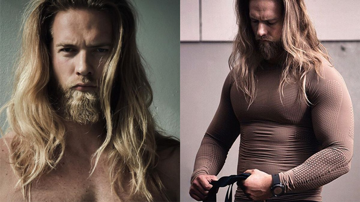 El 'Vikingo' que esá calentando las redes sociales