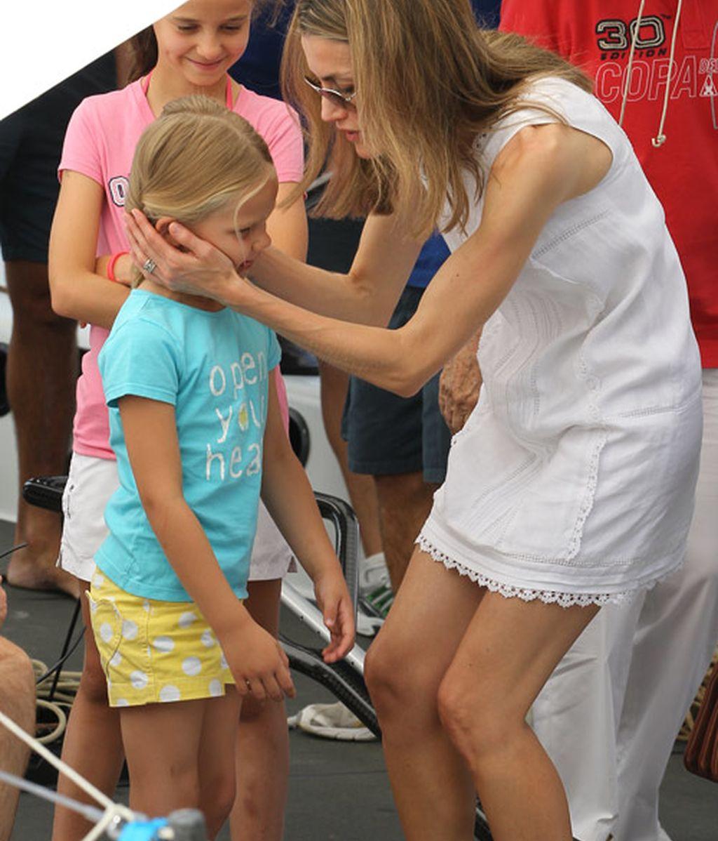 Letizia, a juego con Leonor y Sofía