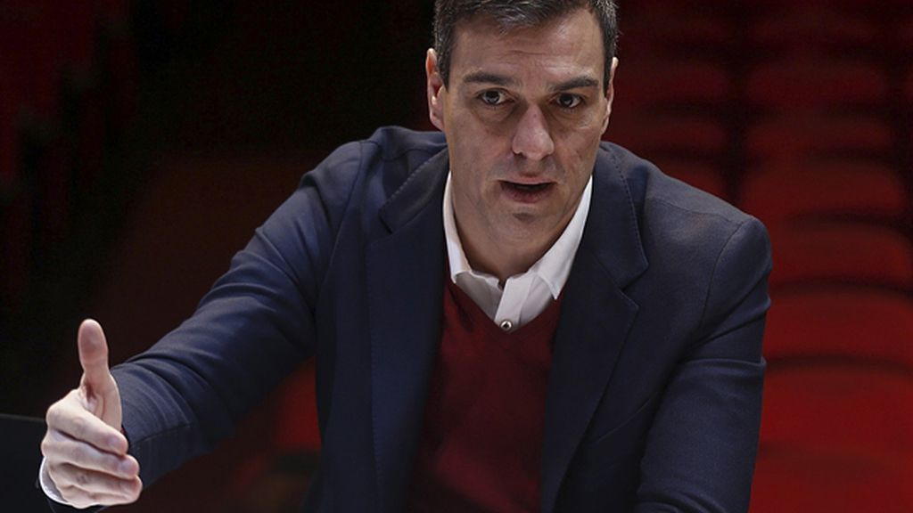 """Pedro Sánchez pide a las """"fuerzas del cambio"""" que dejen """"atrás los vetos"""""""