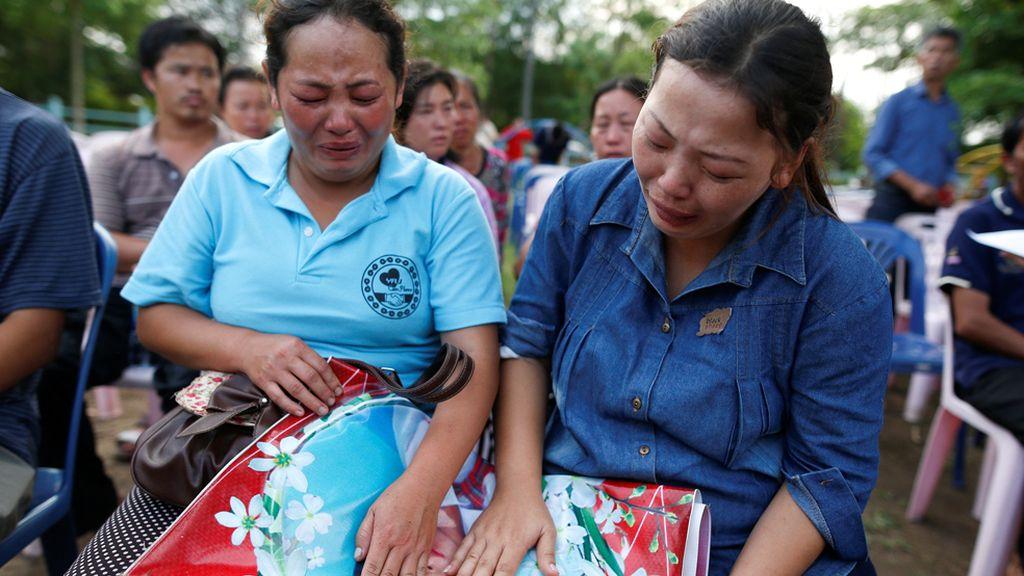 Incendio en un colegio de Tailandia
