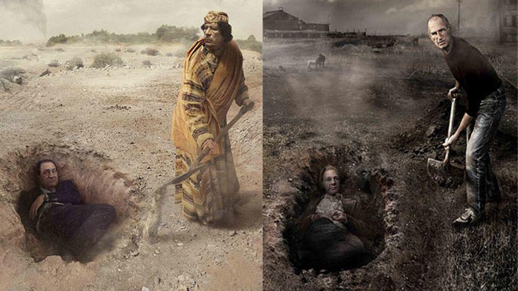 Gadafi y Jobs