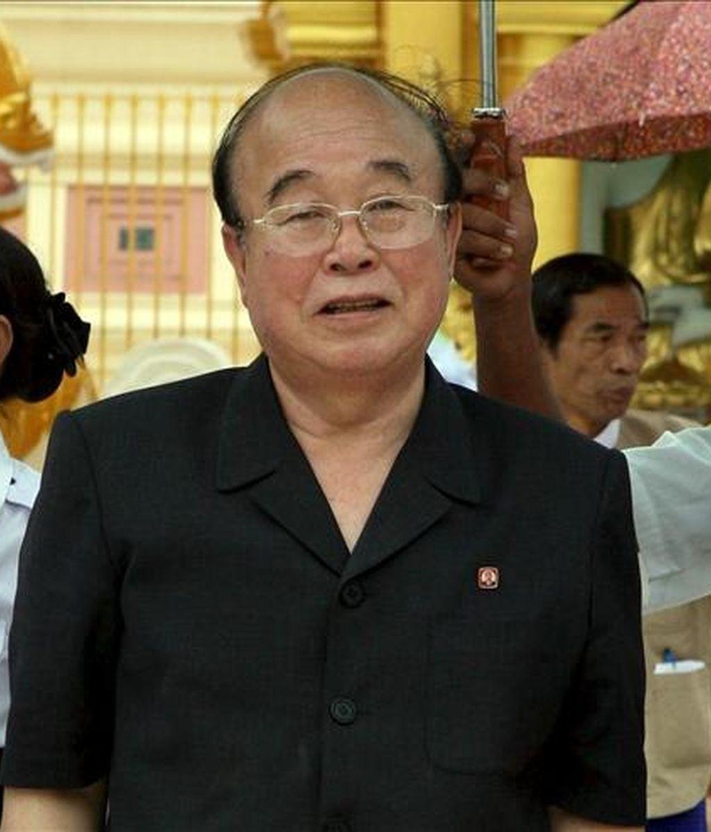 El ministro norcoreano de Exteriores, Pak Ui Chun. EFE/Archivo