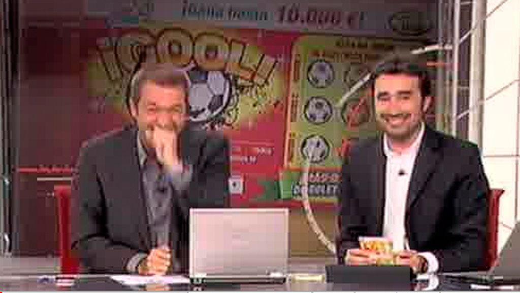 Ataque de risa de Manu Carreño y Juanma Castaño