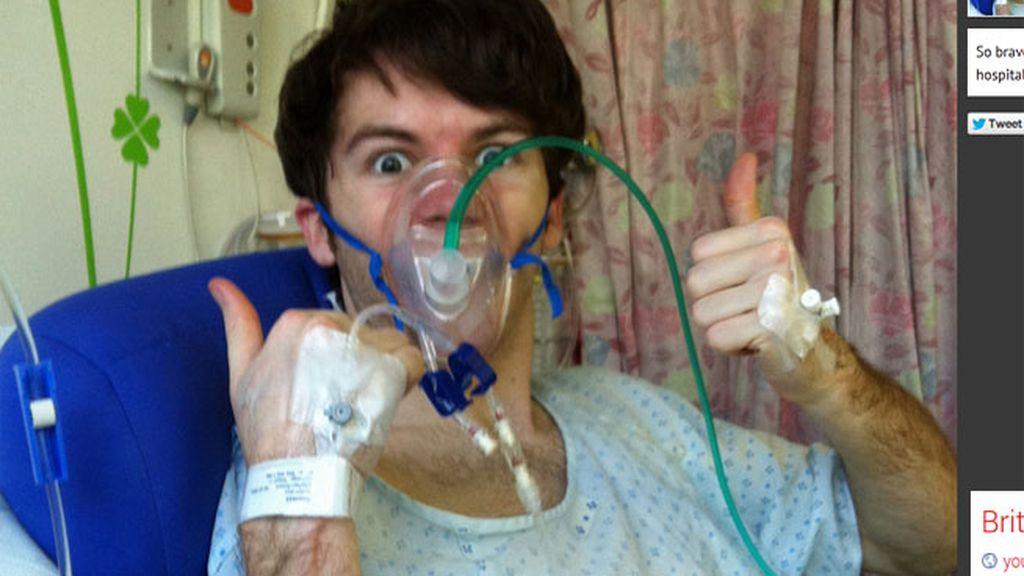 joven enfermo,cáncer terminal,recauda un millón,Stephen Sutton