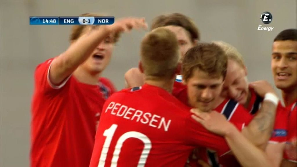 Noruega venció a Inglaterra por 3-1