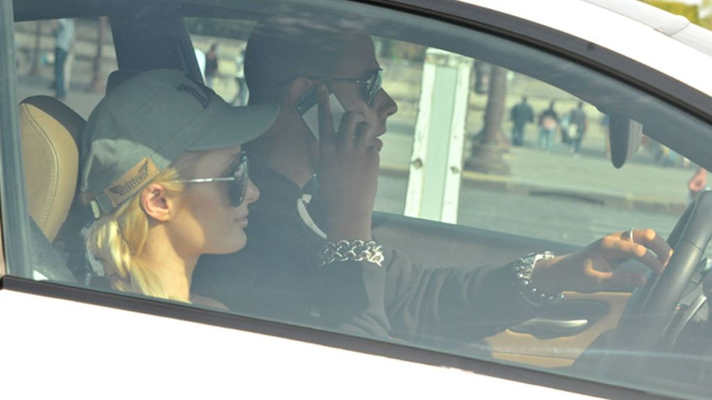 Paris Hilton y DJ Afrojack