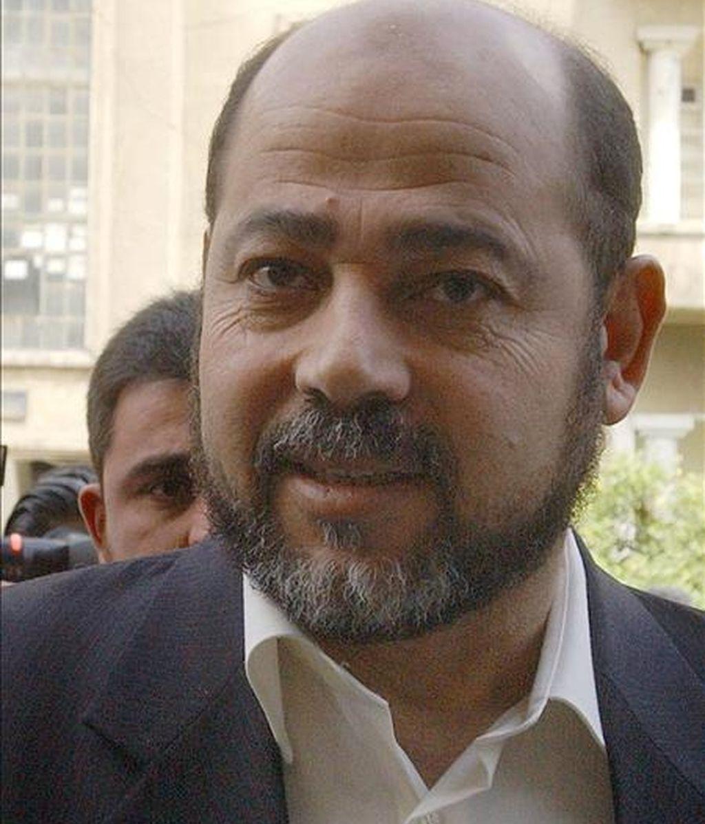 El vicepresidente de la oficina política de Hamás en Damasco, Musa abu Marzuq. EFE/Archivo