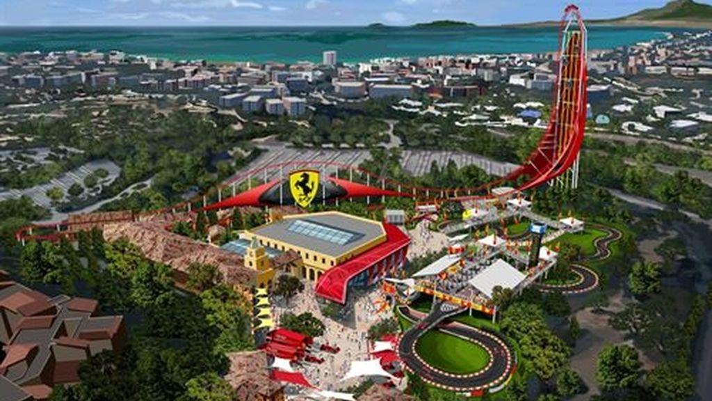 Ferrari abrirá un parque temático y un hotel de lujo dentro de Port Aventura en 2016