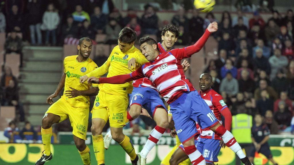 El Granada y Getafe no pasan del empate