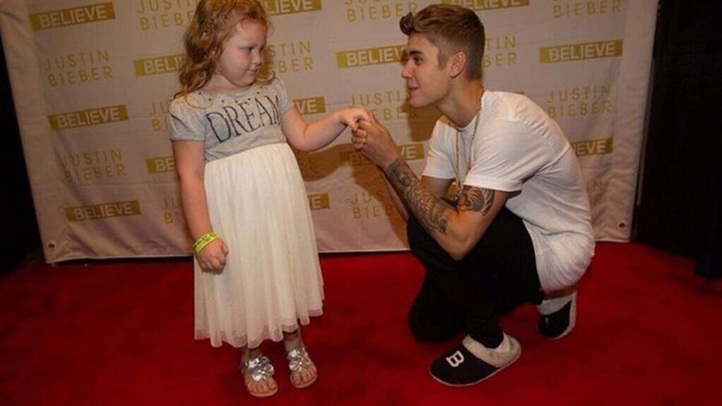Justin Bieber bate el récord de caridad