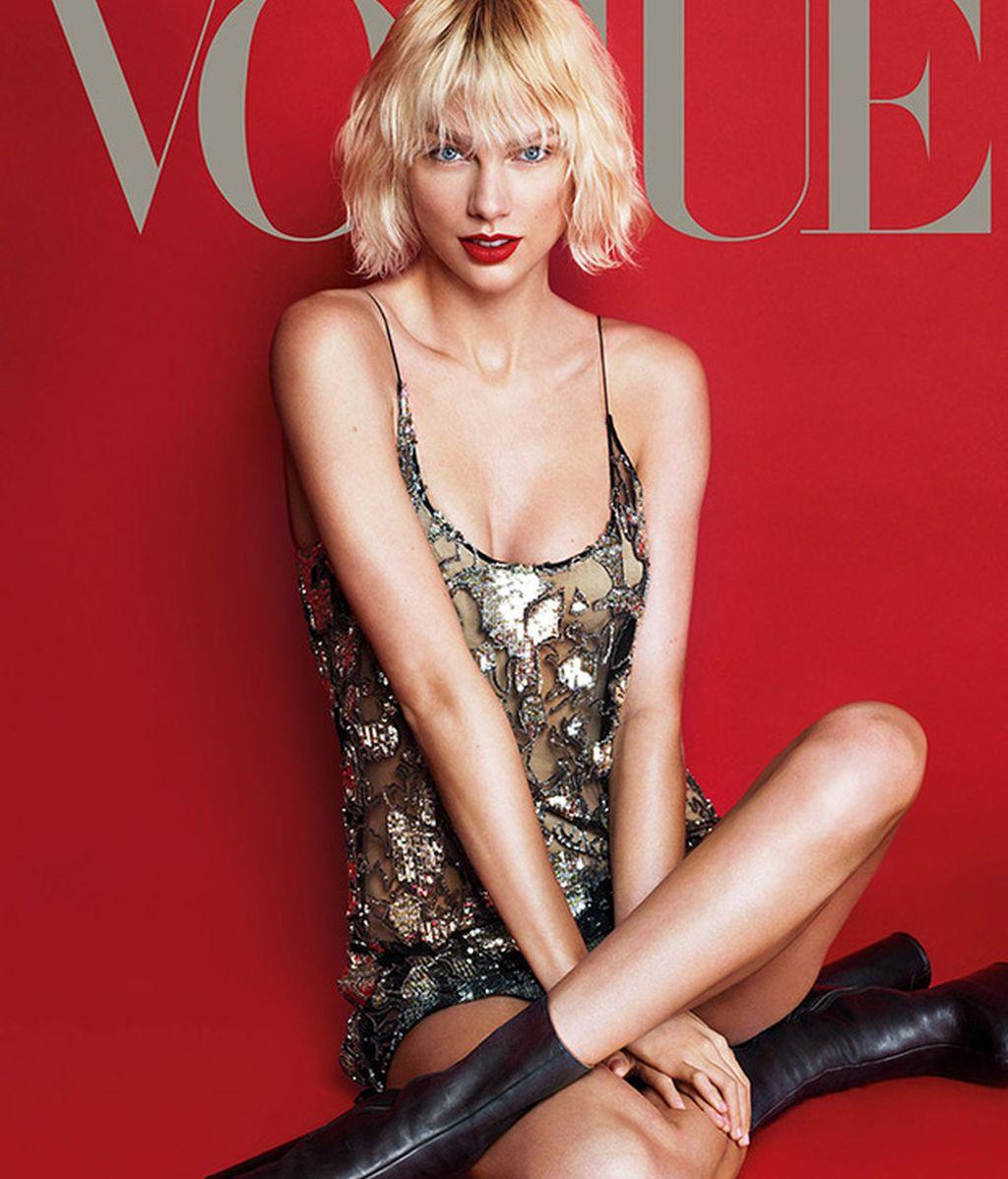 Taylor Swift consigue su primera portada de Vogue