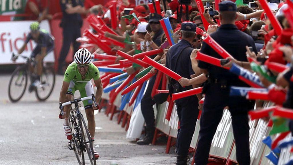 Dani Moreno, Vuelta a España