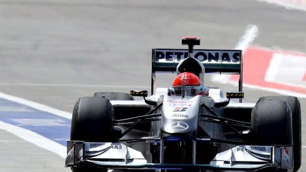 Primera toma de contacto de Schumacher