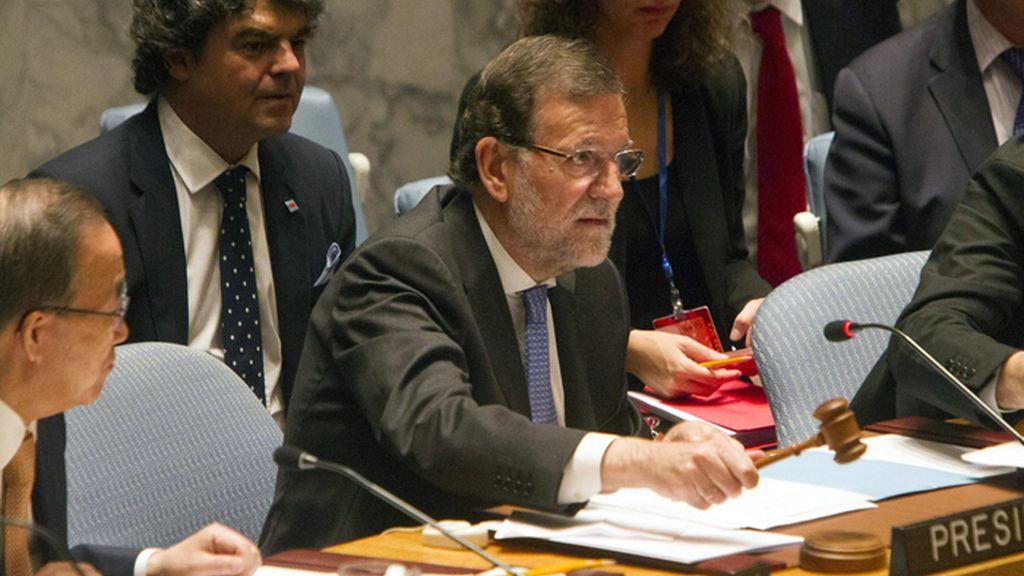 Mariano Rajoy presiden el Consejo de Seguridad de la ONU