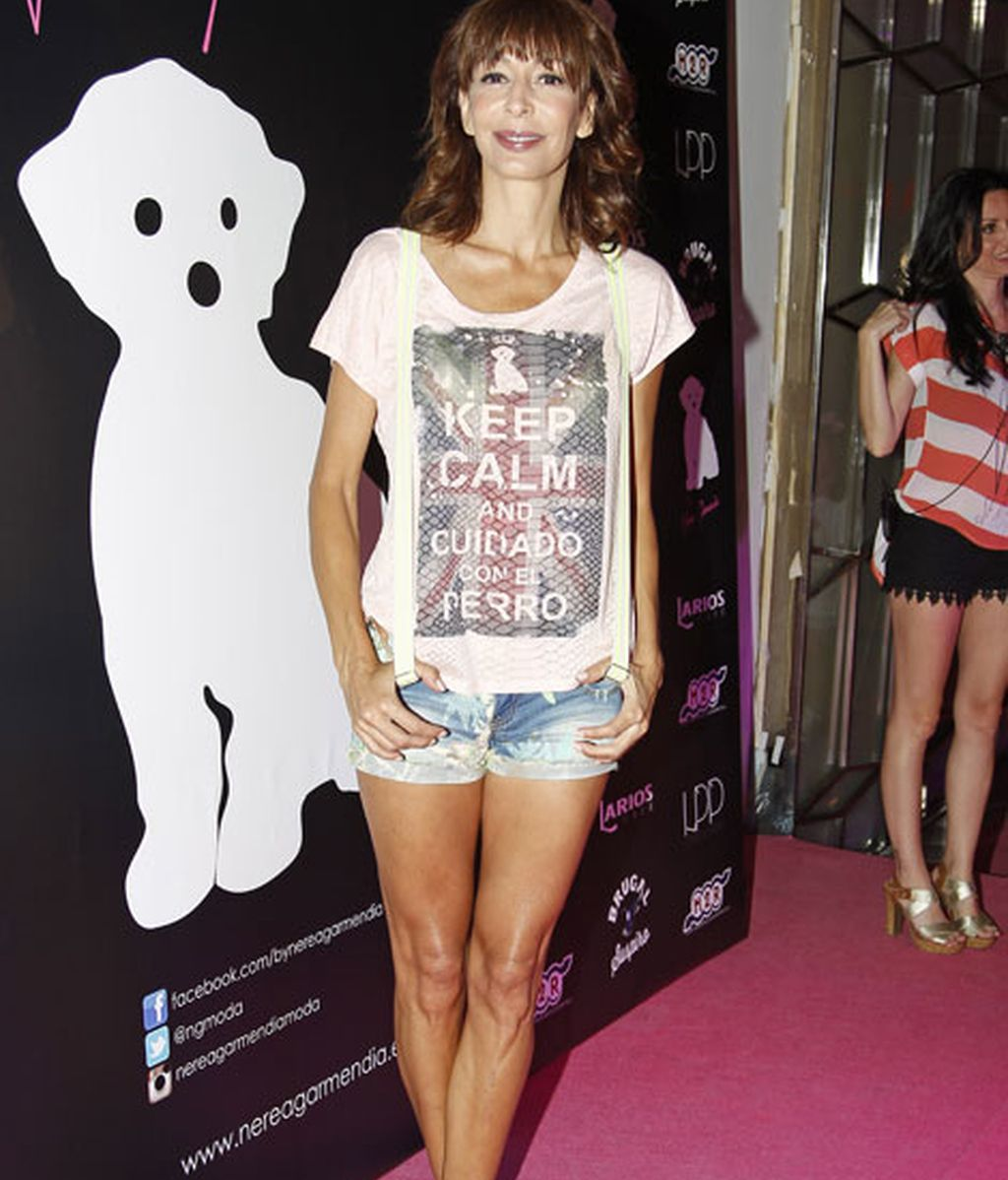 La actriz Elisa Matilla estuvo arropando a Nerea Garmendia