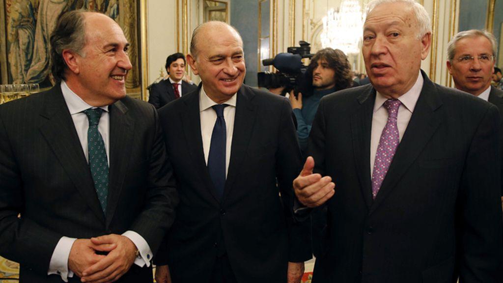 Margallo y Fernández Díaz en Algeciras