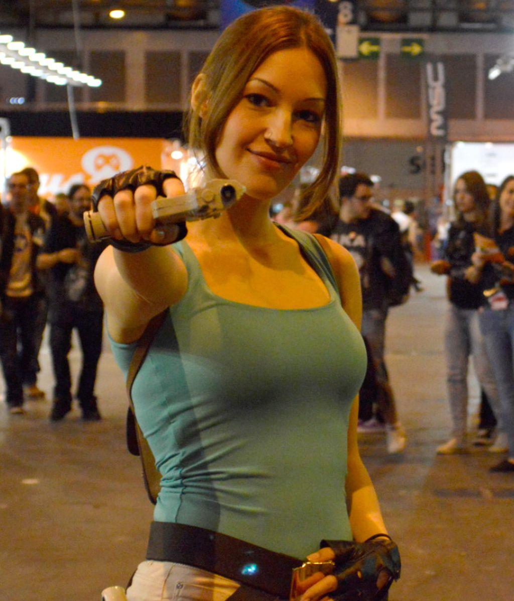 Call of Duty, Final Fantasy, Mortal Kombat... paseándose por IFEMA