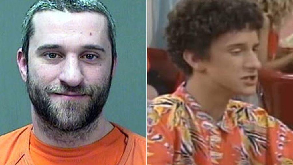 Dustin Diamond, Screech en 'Salvados por la campana', detenido por un apuñalamiento