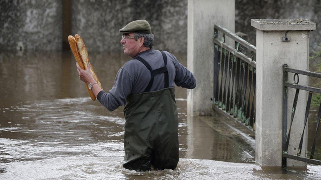 Inundaciones en Francia