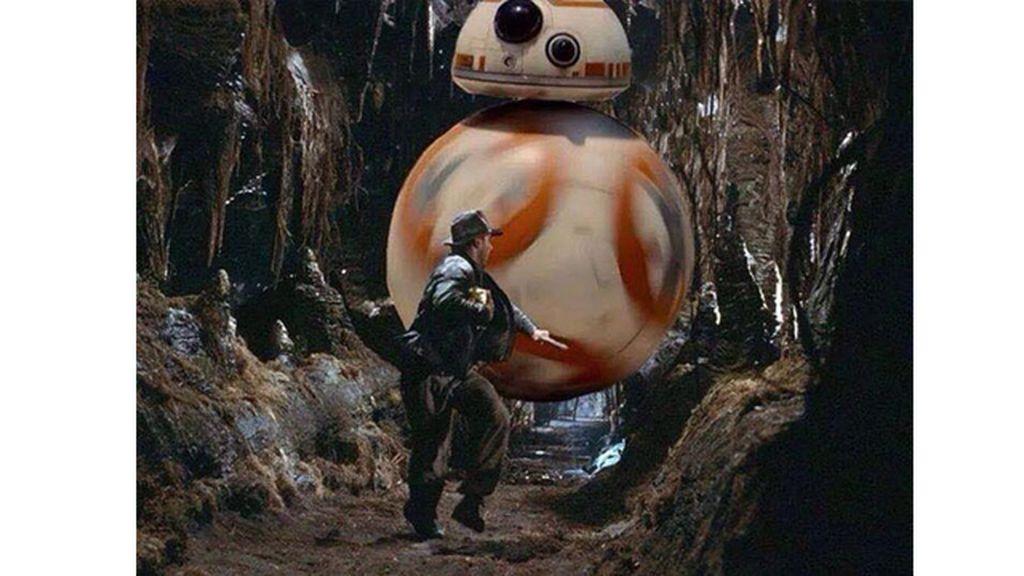 BB-8, la pesadilla de Harrison Ford