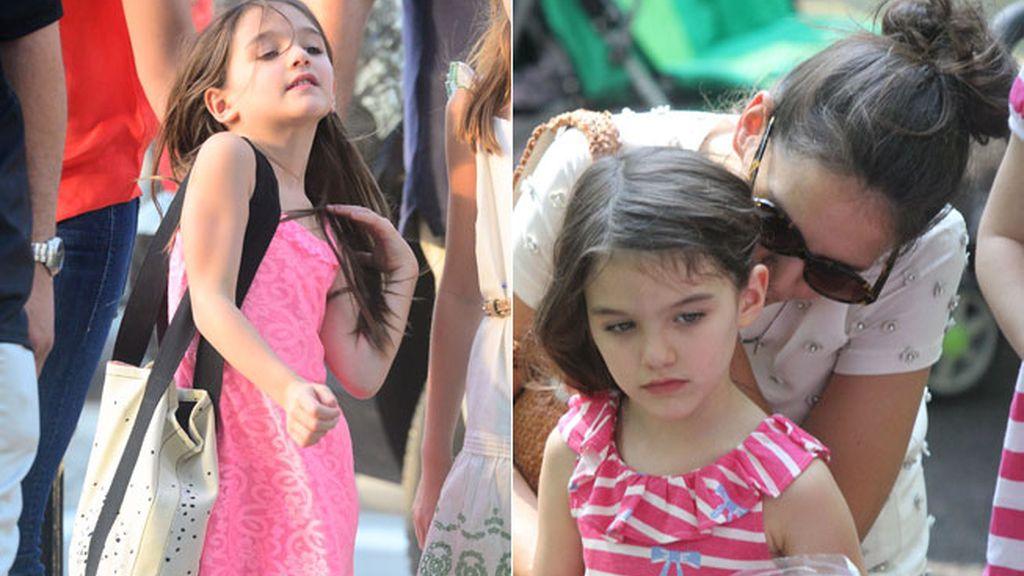 Suri, la hija de Katie Holmes y Tom Cruise