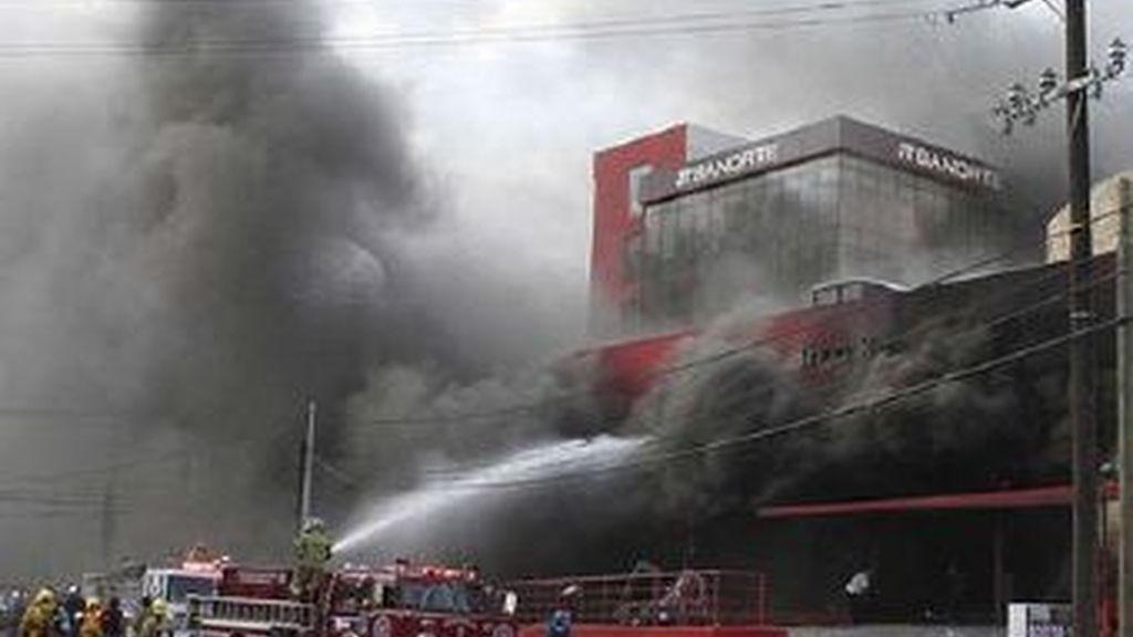 52 personas murieron en el ataque con gasolina al casino de Monterrey
