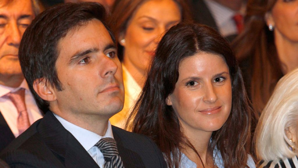 Jose María Aznar hijo y su mujer, Mónica Abascal