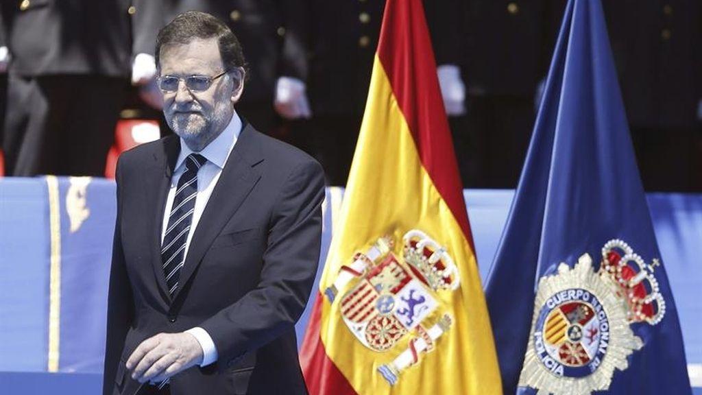 Rajoy elogia el valor de la policía en la lucha contra  ETA