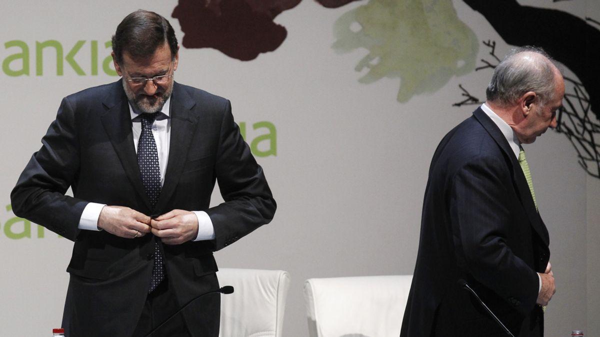 Mariano Rajoy y Rodrigo Rato