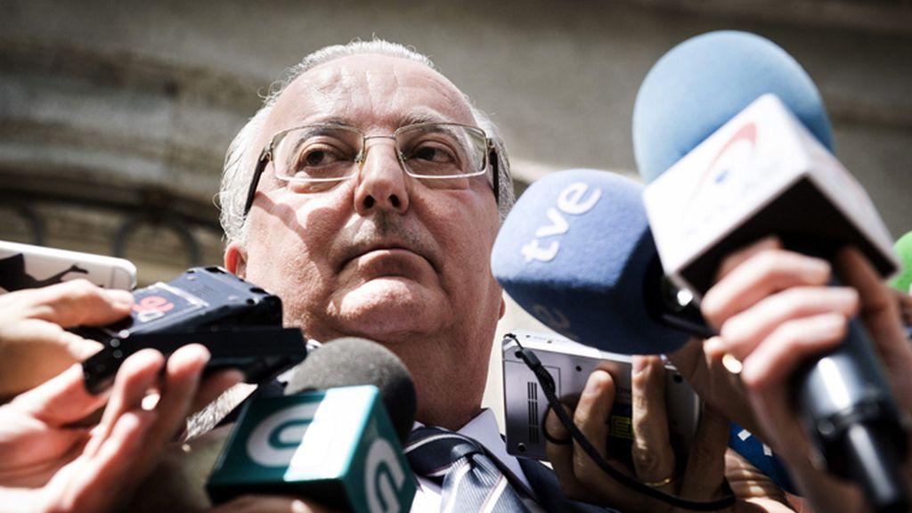 El exconsejero de Empleo andaluz, Antonio Fernández, declara en el Tribunal Supremo